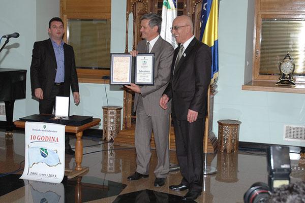 Dodjela priznanja BNV u Sarajevu 2