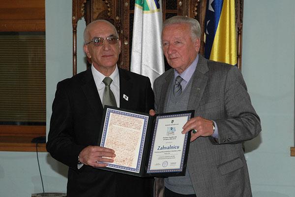 Dodjela priznanja BNV u Sarajevu 4