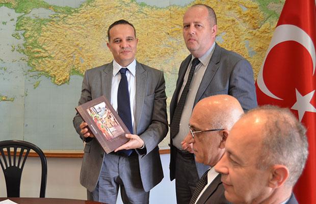 Delegacija BNV kod turskog ambasadora 2