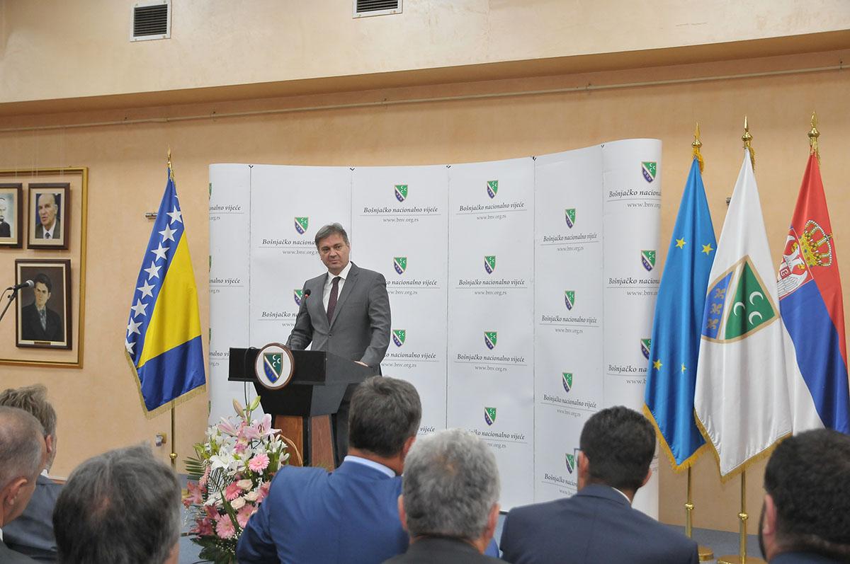 2016-07-29 Svecana sjednica Vijeca - Posjeta Bakira Izetbegovica (4)