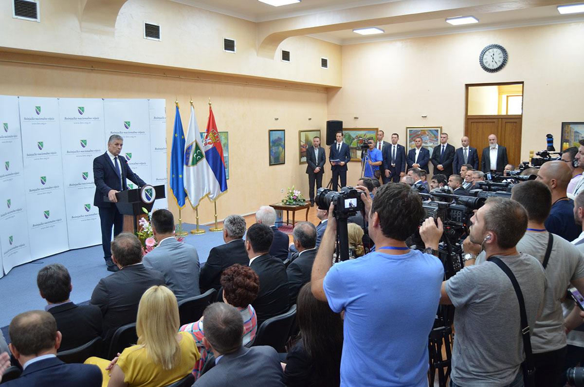 2016-07-29 Svecana sjednica Vijeca - Posjeta Bakira Izetbegovica (7)